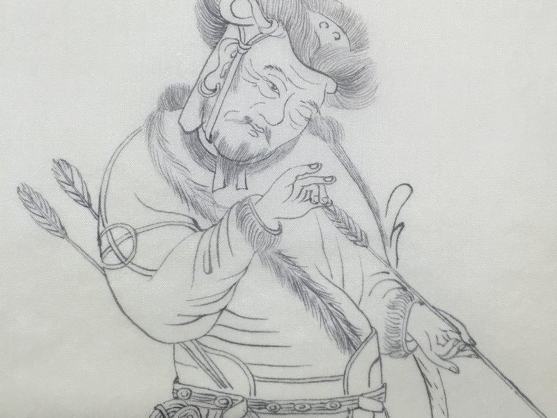 爱画画的摩卡叔叔的直播:猎归图继续