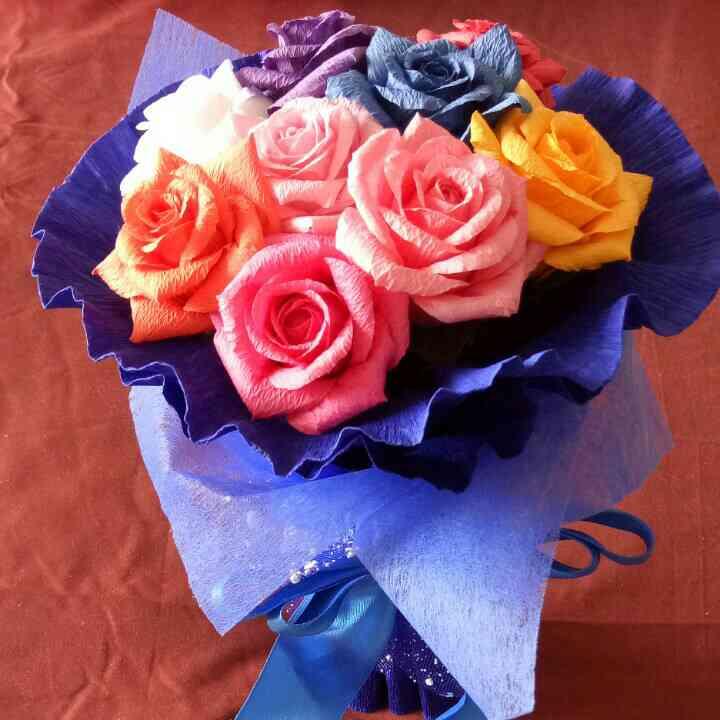 玫瑰手工折纸