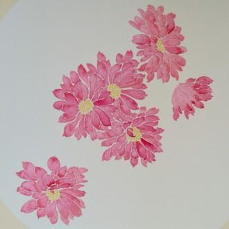 彩铅桃花绘画步骤