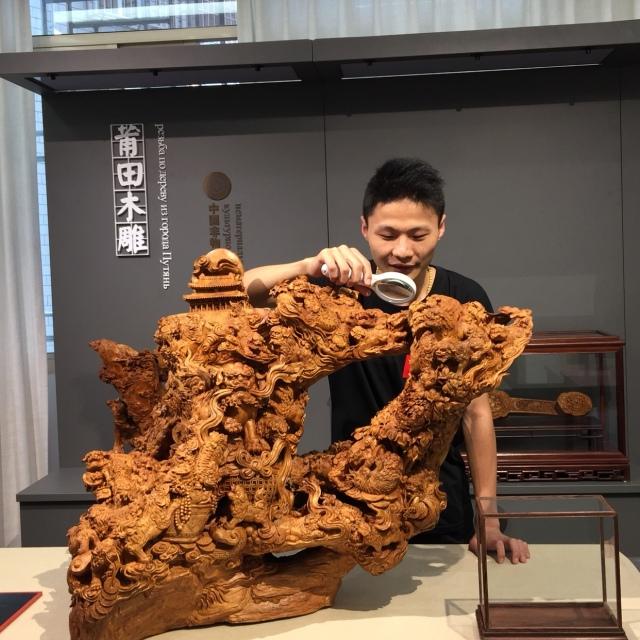莆田木雕( 来自工艺美术大师-林琳琳 - 微博
