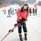 学习滑雪~ #直播红人季#  #我好像去了个假韩国#  #三月,和网红私奔#