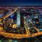 #世界最大国贸建筑群收官#和头条君一起看北京在使用中的最高楼国贸三期A和即将竣工的国贸三期B!今天北京风和日丽,来看看北京最高处的风景!