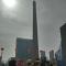 #原渭南热电厂烟囱爆破# 渭南人的记忆!热电厂烟囱,爆破