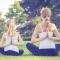 #直播十分钟# 三亚文华东方酒店亲子瑜伽课