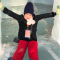 查干湖好冷.新年快乐 #幸运沙发#  #带着微博去旅行#