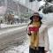 十堰城区暴雪路况直击