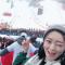 高妹带大家来韩国参加冬奥会自由滑雪,快来感受现场气氛哦 #你好,我的男孩#