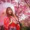 #华小商直播#西安交大樱花祭进行时,快来看樱落美景和娇美萌娘。