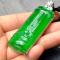 善寶庫老坑玻璃種滿綠戒指
