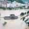 暴雨致汉中略阳县城被淹,17个镇办受灾