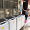 共享洗衣 西安城中村的共享经济产业 打工族洗衣服使用共享洗衣机