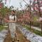 首届那栏红苹果旗袍秀 走进淳化绿野苹果 参观篇
