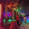 #百万直播计划#【正在直播:红崖峡谷梦幻冰雪激光秀】不用去雪乡,在山西就能体会冰雪与光影的狂欢! 一起看直播!