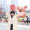 """#实验室TV# 和实验室一起去@成都远洋太古里 打卡""""乐游里巷享团圆""""新年主题装置"""