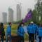 """正青春·在路上""""青年行走计划活动走进咸阳高新区湖畔书屋•李小超雕塑馆"""