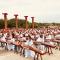 千人古筝大合奏  全国古筝日西安汉城湖分会场活动