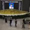 著名画家刘文西追思堂设在西安美院美术馆  文化届名人和市民冒雨前往吊唁