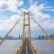 武汉的第十座长江大桥通车啦!过江有多快?记者驾车体验。