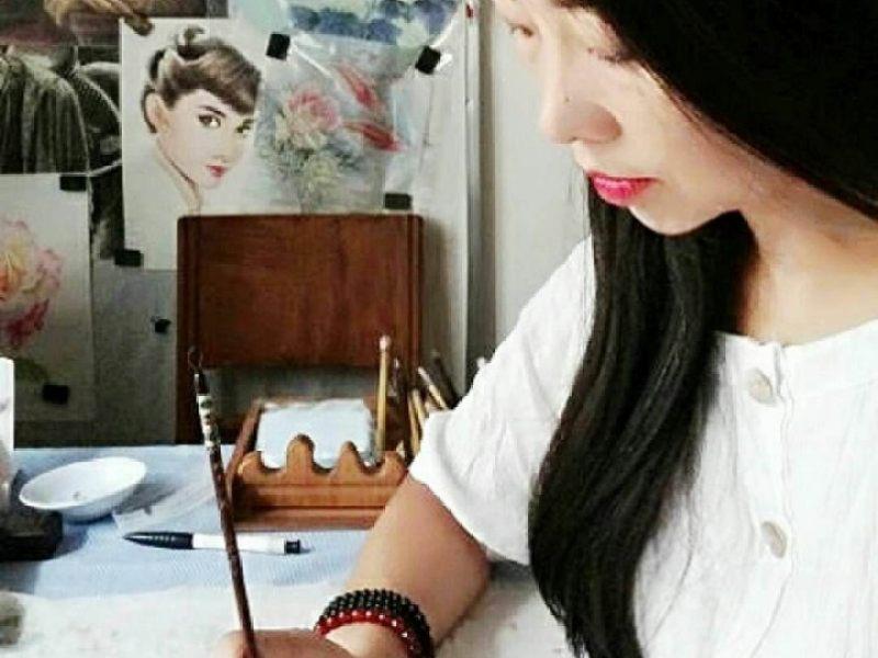 画家陶然 (国画 书法 篆刻 彩铅 素描 水彩  )正在直播