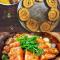 无麸质小米蛋糕卷&有机蒜子焗三文鱼