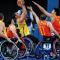 备战残运会,陕西轮椅篮球队vs西藏轮椅篮球队训练赛