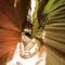 峭壁险峻一线天 严冬季节首次科考甘泉龙巴沟大峡谷